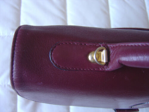 Cartable Bordeaux Style Tres Main Sac Etat Bon Gerard Claude Cuir Sacoche 6ZSa6qw