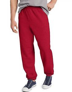 6f7a31e4776 Details about Hanes Men's EcoSmart Elastic Bottom 32 Inch Inseam Sweatpants  (36-38 G) A10