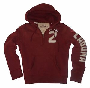 SUDADERA-CON-CAPUCHA-BURDEOS-CHICO-HOLLISTER-BY-ABERCROMBIE-amp-FITCH