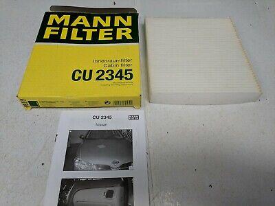 Mann Filter CU2245 Filtre /à air cabine