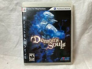 SONY-PlayStation-3-PS3-Demon-039-s-Souls-BLACK-LABEL-VERSION-amp-COMPLETE-Atlus