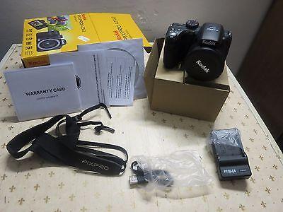 FOTOCAMERA KODAK AZ362 DIGITALE ACCESSORI SCATOLA ORIGINALE SD 16GB FOTOGRAFICA