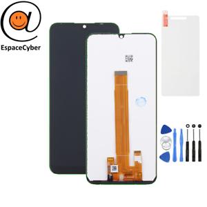 Ecran-LCD-Vitre-tactile-Wiko-View-3-Lite-Noir-Outils-Protection