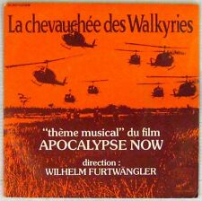 Apocalypse Now 45 tours La chevauchée des Walkyries Furtwangler