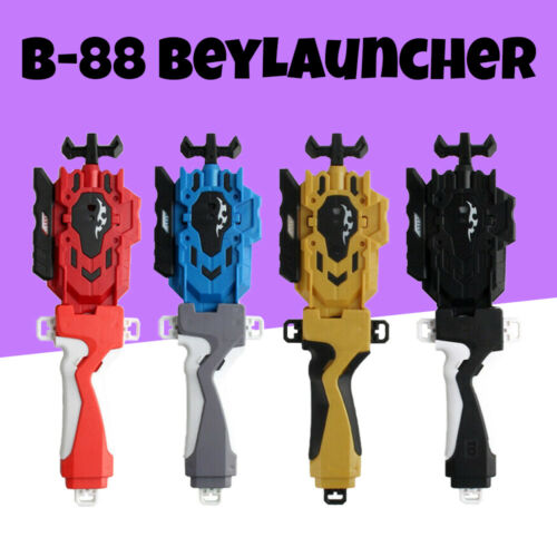 NEW B-88 BeyLauncher LR Beyblade BURST String Launcher Ripper RED BLUE BLACK AU
