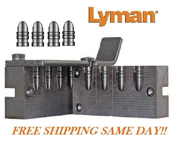 Lyman 4 Cavity Pistol Bullet Mold for 38/357 cal, RN 160 Grain # 2670311  New!