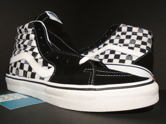 nowy przyjeżdża buty na tanie ponadczasowy design VANS SK8-HI DOVER STREET MARKET DSM CHECK CHECKERBOARD SUPREME VN000TS9J7L  OG 11