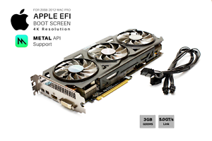 Details about  Gigabyte R9 280x OC 3GB GPU for Apple Mac Pro w/EFI, Boot  screen, METAL and 4K