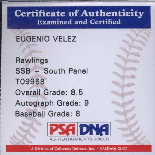 Autographed Baseball - Eugenio Velez
