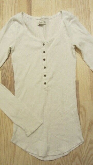 Bluse, ELASTISK BLUSE, ABERCROMBIE & FITCH