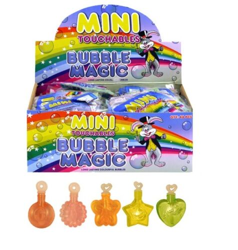 Mini touchable bulles baignoires magic coloré sac fête remplisseur summer outdoors fun