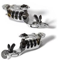 Chrome Rotary Motor Tattoo Gun Machine Clip Cord Silent Liner Shader Lightweight