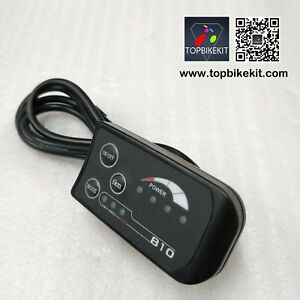 24V-LED810-Display-Level-Meter-Panel-for-electric-bike-ebike-e-scooter-4pins
