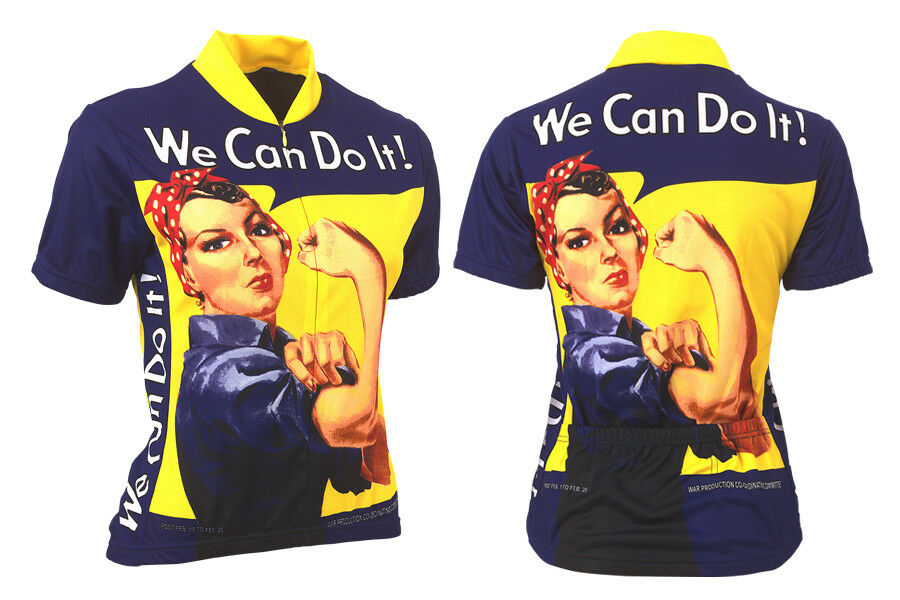 Microbrewery Ladies Rosie Riveter Cycling Jersey Large