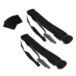 Details about 1 Pair Roof Bar Pads Kayak Canoe Protection Gear Equipment  for Car Roof Rack