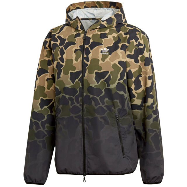 73568e26be63 adidas Originals Camouflage Camo Windbreaker Men s Transitional ...