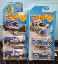 Lot of 4 ( COLOR VARIATION ) 2014 HOT WHEELS - SO PLOWED AVALANCHE RESPONSE #50