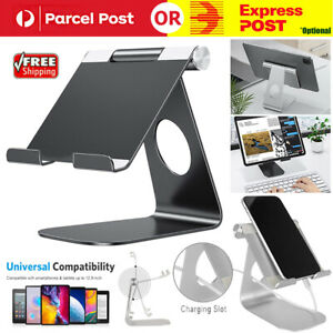 Universal-Aluminum-Rotatable-Stand-Mount-Holder-For-iPhone-iPad-Cellphone-Tablet