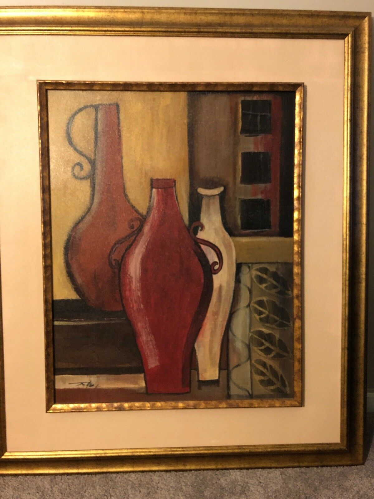 Decorative Bottles Canvas Wand Kunst Painting Home Decor 35X40