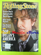 ROLLING STONE USA MAGAZINE 1078/2009 Bob Dylan Ben Harper Eric Church No cd