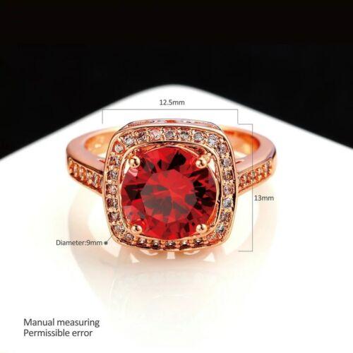 Red and orange Diamond Ring