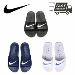 Conclusión Tiza una taza de  Para Hombre Nike Kawa deslizadores Ducha Sandalias Ojotas Playa Piscina  Verano Zapatillas | eBay