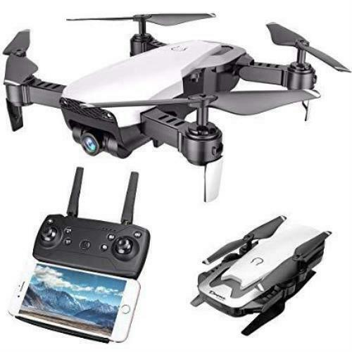 Cooligg Quadcopter Drone S163 2MP 720P Selfie Camera WiFi FPV Follble Arm