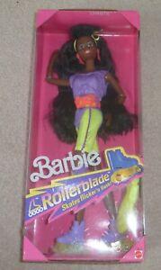 1991 Barbie Rollerblade Christie Doll Boîte D'origine Jamais Ouverte.-afficher Le Titre D'origine
