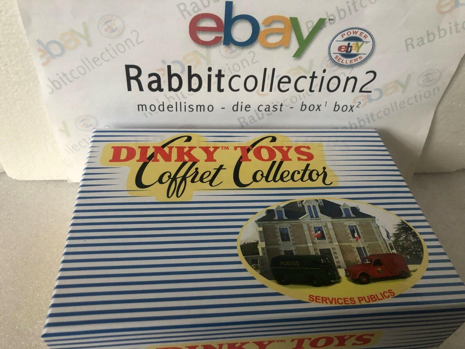 Die Cast  Coffret Collector Service publics  Dinky Toys (Atlas) 1 43 scale
