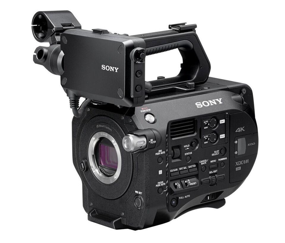 Professionelt videokamera, Sony, Sony PXW-FS7 + Sony