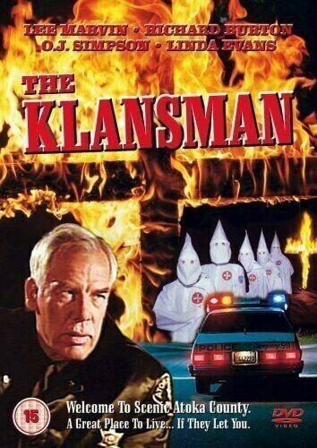 THE KLANSMAN RICHARD BURTON DVD REGION FREE VERY GOOD LIKE NEW