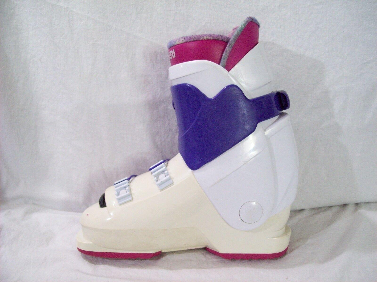 Munari Munari Munari ski Stiefel ME Central Entry Line 100 Wrap Adjustment Rosa Weiß sz 281MM a3e5e3
