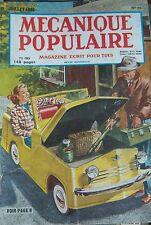 REVUE MECANIQUE POPULAIRE N° 26 de 1948 VOITURE USA ICEBERG POLICE RAIL PIGEONS