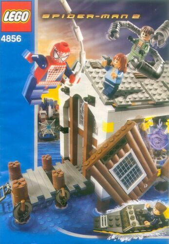 INSTRUCTION MANUAL ONLY LEGO 4856 SPIDERMAN Doc Ock/'s Hideout