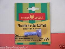 OUTILS WOLF boulon de fixation de lame pour tondeuses tondor QS QST RB RC 46 51