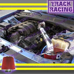 BLUE 2005-2010 DODGE CHARGER//MAGNUM//CHRYSLER 300 300C 2.7L V6 AIR INTAKE KIT 2P