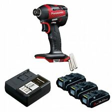 PANASONIC EY75A7PN3G31R 14.4V / 18V BRUSHLESS IMPACT DRIVER WITH 3 X 3.0AH