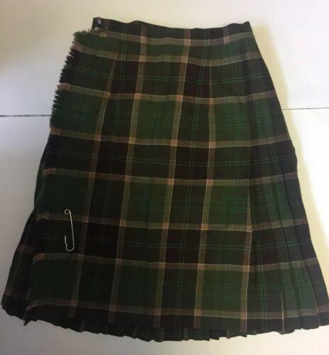 Aljean Skirt ladies size12 Vintage 1955 Wool Wrap