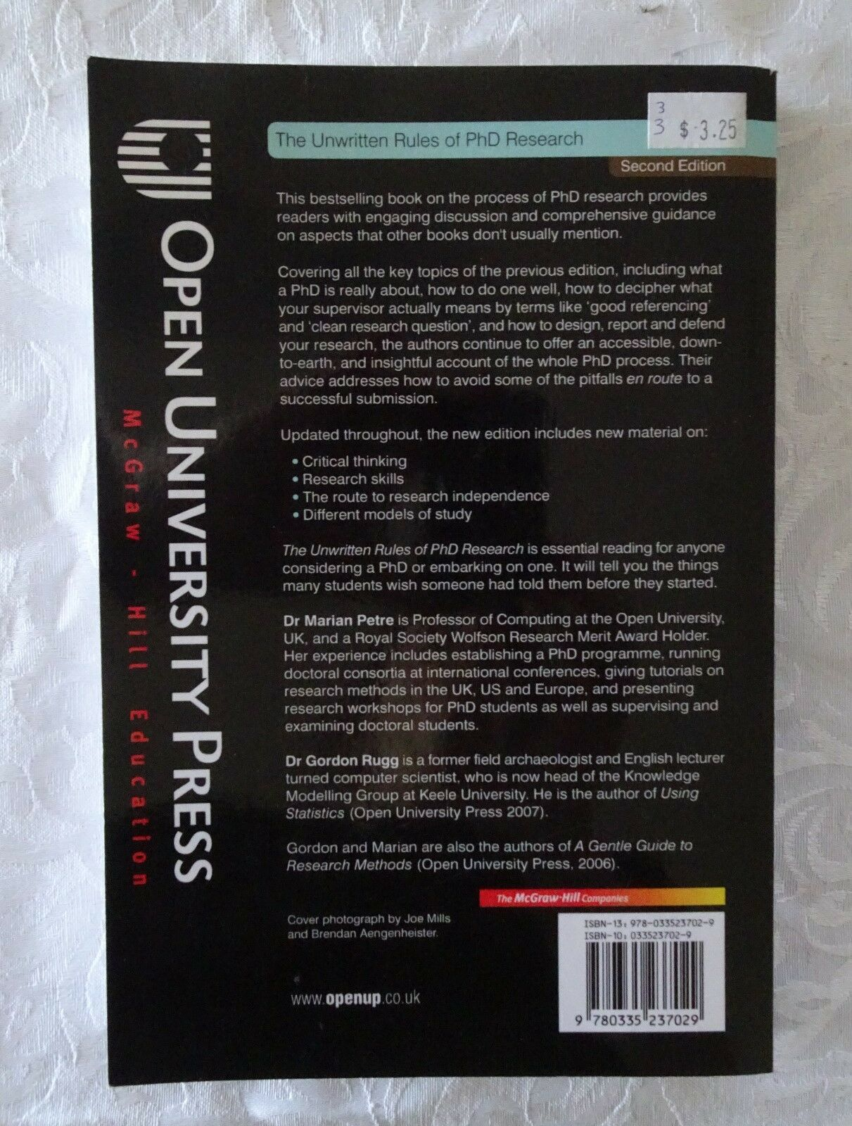 Phd of research the rules pdf unwritten
