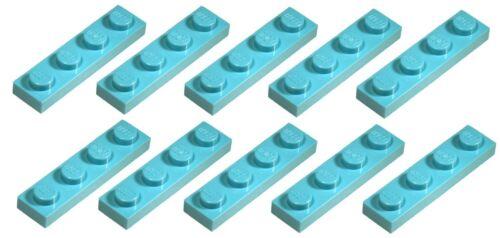 Lego Medium Azure Plate 1x4 10 pieces NEW!!!