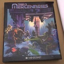 "Tegel's Mercenaries by Mindcraft 3.5"" Disks IBM & Compatibles Complete Big Box"