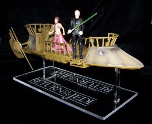 acrylic display stand for Star Wars Jabbas Tatooine Skiff POTF  and vintage