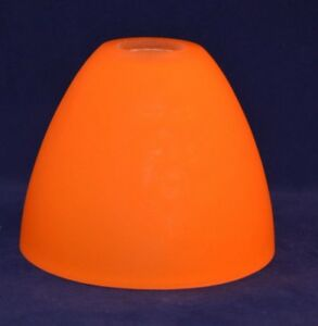 1 replacement small drop pendant frosted orange glass lamp shade image is loading 1 replacement small drop pendant frosted orange glass aloadofball Choice Image