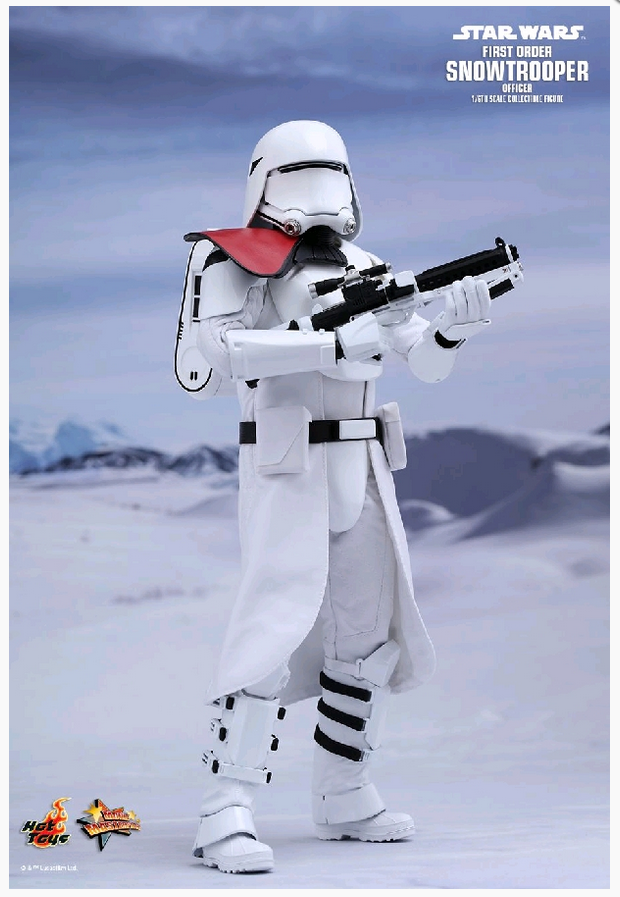 STAR WARS WARS WARS HOT TOYS FIRST ORDER SNOWTROOPER OFFICER 1:6 SCALE FIGURE HOTMMS322 0a9181