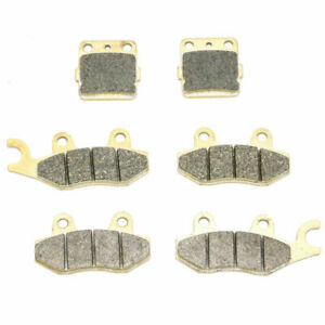 Brake Pads for Yamaha 450 YFZ450 YFZ450S YFZ450T 2004-2005 Front Rear Brakes