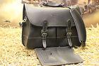 Mulholland Brothers Angler's Bag BARRINGTON Vtg Leather Briefcase Bag MSRP$565