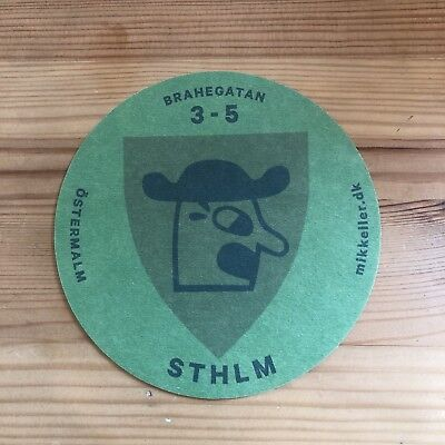 Mikkeller 2019 Henry /& Sally Beer Mat Coaster Brand New