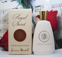Royal Secret Luxury Bath Powder 4.0 Oz. By Germaine Monteil. Vintage.