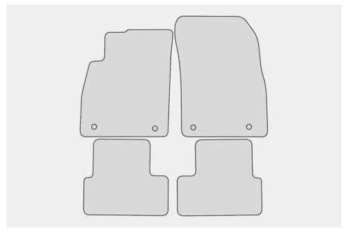 2009-2016 Ganzjahres Fußmatten für Opel Astra J Bj