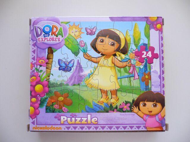 Details about Nickelodeon DORA the EXPLORER 24 Piece Jigsaw Puzzle BN